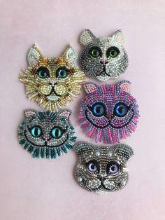 Брошь «Кот», «Чешир», «Мейнкун» – купить в интернет-магазине на Ярмарке Мастеров с доставкой