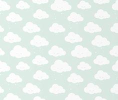 Clouds – mint | EefLillemor®