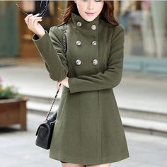 Casual Autumn And Winter Trench Coat