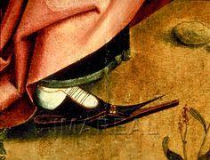 c10ff47f66bbaf Augustus und die Sibylle von Tibur Kunstwerk  Temperamalerei-Holz    Einrichtung sakral   Flügelaltar