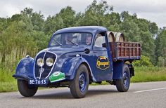 1949 Peugeot 202UH Commercial with 1.1L 4-cylinder  30Bhp Engine