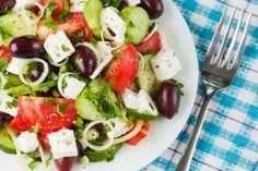Stock Image: Food and Drink Greek Salad, Caprese Salad, Recipes, Dressings, Food, Essen, Meals, Insalata Caprese, Eten