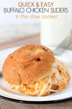Enjoy the flavor of Buffalo Chicken Wings without all the work with thisCrock Pot Buffalo Chicken Sliders Recipe. Perfect to feed a crowd on Game Day or at your next family dinner. Crock Pot Buffalo Chicken Sliders Recipe Does your family love buffalo chicken as much as we do? We just can't get enough! FromBuffalo …