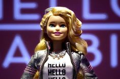 A new #Barbie doll called Hello Barbie has a microphone and can record conversations with kids. Privacy advocates are calling the doll creepy.