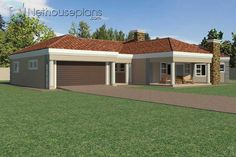 5 Bedroom Single Storey House Plan For Sale NethouseplansNethouseplans Tuscan House Plans, Porch House Plans, 4 Bedroom House Plans, Farmhouse Floor Plans, Craftsman House Plans, House Plans For Sale, House Plans With Photos, Small Modern House Plans, Contemporary House Plans