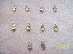 Little Doll Girl Alloy Charms by GetStoneCreations on Etsy