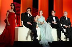 Jurors Diane Kruger, Nanni Moretti, Ewan McGregor, and Jean-Paul Gaultier along with Berenice Bejo attended the opening ceremony of the 65th annual Cannes Film Festival. Via www.zoolz.com