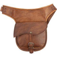 Dark Brown Leather Belts - Polyvore