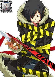 but hes just so cute Durarara, Izaya Orihara, Shizaya, All Anime, Anime Manga, Anime Guys, Anime Art, Black Rider, Azrael