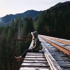 Vance Creek Bridge, WA The Vance Creek Bridge, the second highest railway arch bridge in the US. Built for a logging railroad in Washington State, now abandoned.