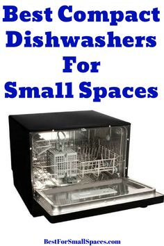 Pressure cookers have functions characteristic of their categories. Rice cookers have single inside containers while typical cookers features multi deck containers. Small Dishwasher, Countertop Dishwasher, Integrated Dishwasher, Tiny House Appliances, Best Appliances, Small Appliances, Rv Kitchen Remodel, Small Home Offices, Washing Machine And Dryer
