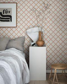 Bedroom Wallpaper, Inspirational Wallpapers, Lights Background, Flower Wallpaper, Small Rooms, Trellis, Wall Murals, Colours, Cool Stuff