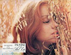 """4. Muriel Catalá in """"Faustine et le bel été"""" (1972); regia: Nina Companeez (fotobusta)"""