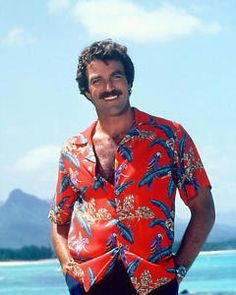 Tom Selleck As Magnum Pi Rolex - 14.9KB