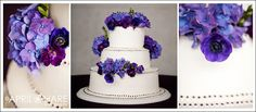 Google Image Result for http://www.apriloharephotography.com/blog/wp-content/uploads/2012/08/White-Das-Meyer-Wedding-Cake-with-purple-flowers-and-purple-dots.jpg