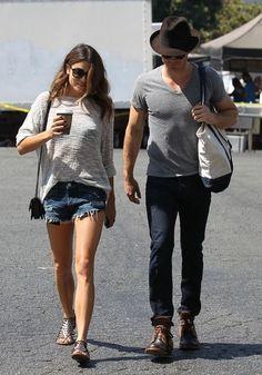 Ian Somerhalder and Nikki Reed Photos - Nikki Reed and Ian Somerhalder's Out Shopping - Zimbio