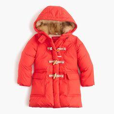 J.Crew - Girls' toggle puffer coat