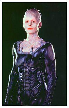"I am the Borg."" – Borg Queen, 2063 (Star Trek: First Contact) Star Trek Borg, Star Wars, Aliens, Star Trek Enterprise, Star Trek Voyager, Science Fiction, Akira, Star Trek Characters, Fantasy Characters"