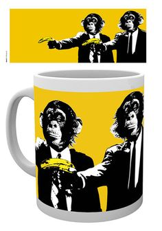 Monkey And Banana, Dishwasher, Ceramics, Mugs, Tableware, Artwork, Prints, Monkeys, January