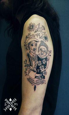 béatrice myself: tattoo sans poils