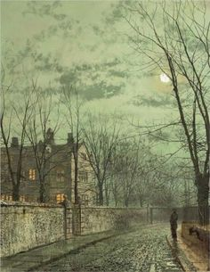 Under the Moonbeams - John Atkinson Grimshaw