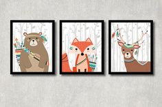 Hey, I found this really awesome Etsy listing at https://www.etsy.com/au/listing/279345772/tribal-animals-set-printable-nursery