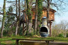 ARBRAKABANE: La cabane Gorgone peut accueillir une famille (4 à...