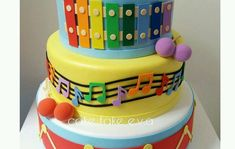 1 Year Birthday, Birthday Parties, Music Birthday Cakes, Ava, First Birthdays, Birthday Music, 16 Cake, 1st Birthday Boys, Rock Star Party