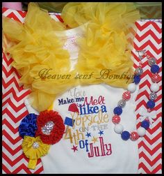 4th of July Girls embroidered letter sTank top, Ruffles Girls embroidered T shirt,Toddler ... $29.99