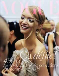 gemma ward is the most beautiful model ever. Long rein the queen.