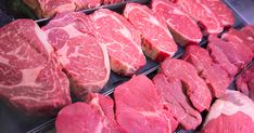 The USDA Food Safety and Inspection Service announced that American Beef Packers, a company based out of California, is recalling over pounds of raw beef. Foods That Contain Protein, American Beef, Tyson Foods, Bbq, Usda Food, Ate Too Much, Food Safety, Cheap Meals, Steak