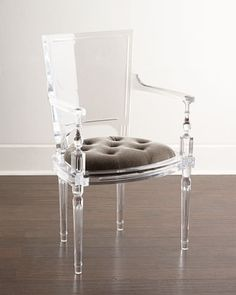 lucite acrylic chairs baby bath for the tub 240 best plexiglass images global views katherine armchair