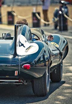 Jaguar D-Type (Le Mans Classic 2014)