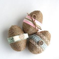 How to transform plastic eggs from the dollar store into these adorable Shabby Chic Decorative Eggs.