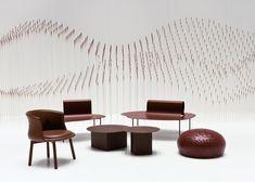 Chocolatexture Lounge Exhibition by Nendo at Maison & Objet 2015 | http://www.yellowtrace.com.au/maison-objet-2015-highlights/