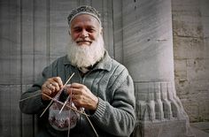 The Knitting Man, Istanbul, Turkey (2005)