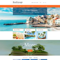BonVoyage. Bootstrap PrestaShop Template