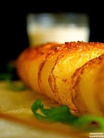 Zakręcone, ziołowe ziemniaki pieczone - sprężynki