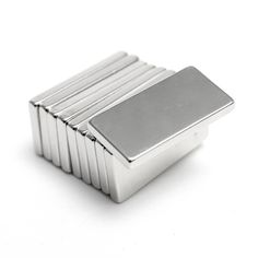 10PCS Super Strong Block NdFeb Magnets Rare Earth Neodymium N52 20 x 10 x 5 mm