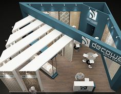 """Check out this @Behance project: """"DECOWALL""""… Exhibition Stall Design, Exhibition Display, Exhibition Stands, Exhibit Design, Architecture Art Design, Facade Design, Expo Stand, Pavilion Design, Displays"""
