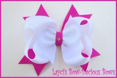hair bows with spikes | visit etsy com