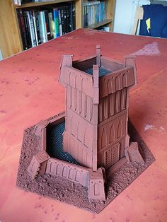 Confessions of a 40k addict: Terrain is everything - 40k outpost, that got bigger Pt 1 'the outpost'