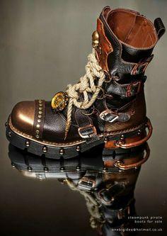 Sky Captain Boots