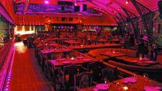 YUM - good food Gilgamesh Bar & Restaurant, The Stables Market, Camden, London, NW1 8AH