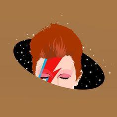 The Candid Observer Queen David Bowie, David Bowie Art, Graphic Design Illustration, Illustration Art, John David, Mural Art, American Artists, Vector Art, Pop Art
