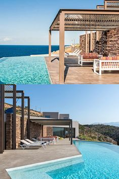 Find the villa that muches your taste, with amazing infinite pool! #crete #greece #chania #summer #vacations #holiday #travel #sea #sun #sand #nature #landscape #island #TheHotelgr