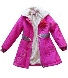 -30% Sale KIEZEL-TJE Wintermantel für Mädchen K3016 NEU 116oder 140 PINK | eBay