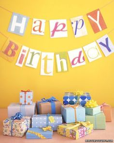 """See the """"Birthday Banner"""" in our  gallery"""