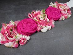 Items similar to Bridal sash SALE - Pink maternity sash - floral sash - bridal sash - bridesmaids - wedding - belts and sashes on Etsy Wedding Belts, Wedding Sash, Bridal Sash, Wedding Bridesmaids, Maternity Sash, Wedding Accessories, Trending Outfits, Unique Jewelry, Handmade Gifts