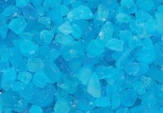 Mosaic beach glass - sky blue / thoughts to put on a mosaic mat then staple to wall for easy removal - temp back splash